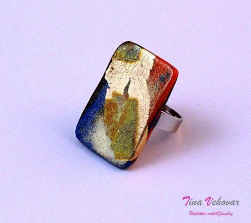 Tina Vehovar - oranžen prstan
