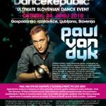 Paul van Dyk na dance Revolution Revelation v Ljubljani, 24. 6. 2010