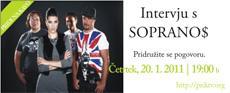 Pridi na kavo - intervju z glasbeno skupino Soprano$