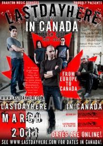 LastDayHere Canadian Tour