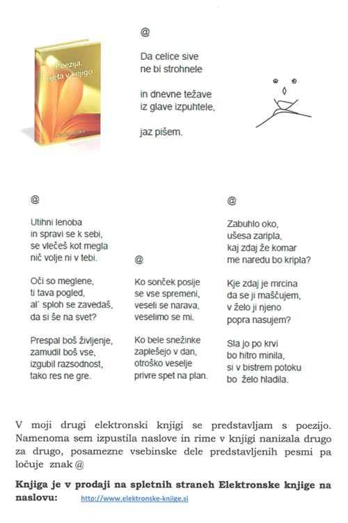 Antonija Jereb: Poezija, ujeta v knjigo