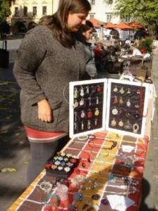 Veseli december Art market Novo mesto